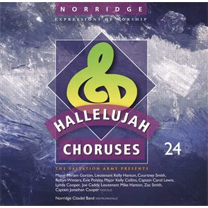 HALLELUJAH CHORUSES #24 (251-260) ACCOMPANIMENT CD