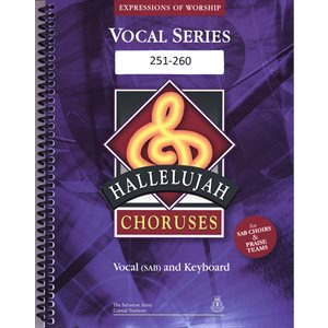 Hallelujah Choruses #24 (251-260) Vocal Book