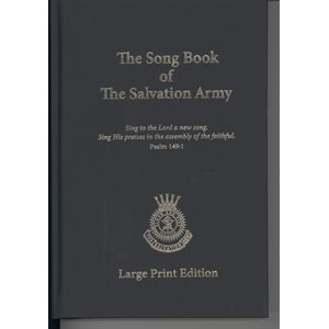 SONGBOOK  LARGE PRINT 2015