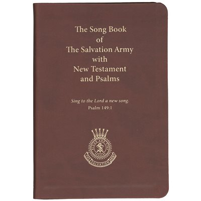 Songbook With Niv New Testament & Psalms - Burgundy Faux Leather Binding