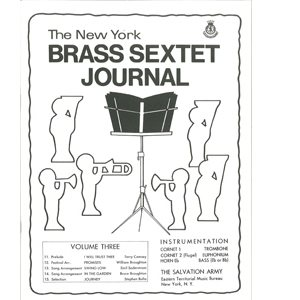 Brass Sextet Journal #3
