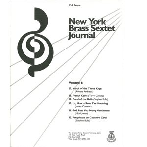 Brass Sextet Journal #6
