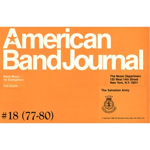 American Band Journal 18 (TUNES 77-80)  LG SET