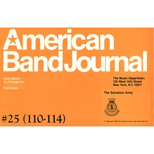 American Band Journal 25 (110-114) LG SET