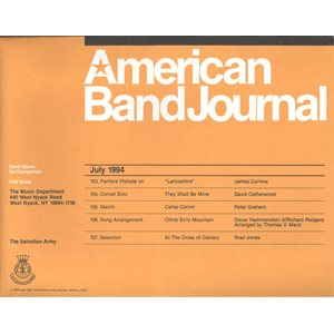 American Band Journal 34 (153 - 157) LG SET
