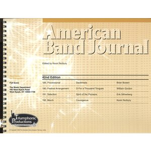 American Band Journal 42 (189-192) LG SET