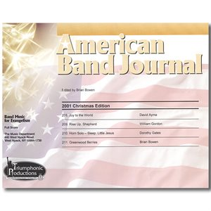 American Band Journal 47 (208-211) Christmas 2001