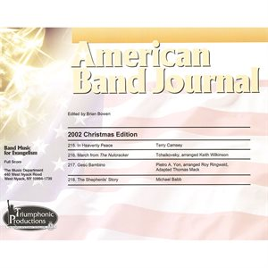 American Band Journal 49 (215-218) Christmas 2002