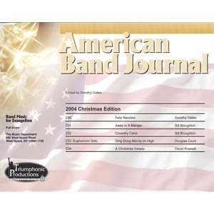 American Band Journal 53 (230-234) Christmas 2004