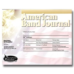 American Band Journal 54 (235-238) SPRING