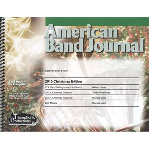 American Band Journal 65 (279-282) Christmas 2010