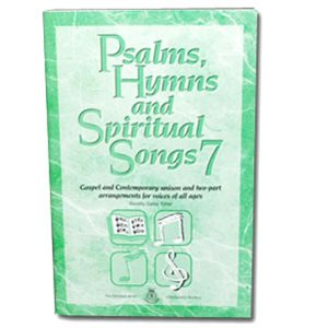 PSALMS, HYMNS #7 BOOK