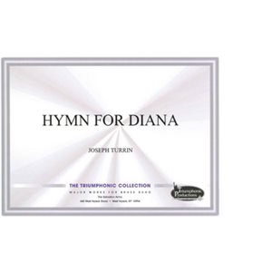TRIUMPHONIC COLL. HYMN FOR DIANA DS