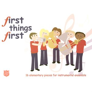 FIRST THINGS FIRST  /  PERCUSSION