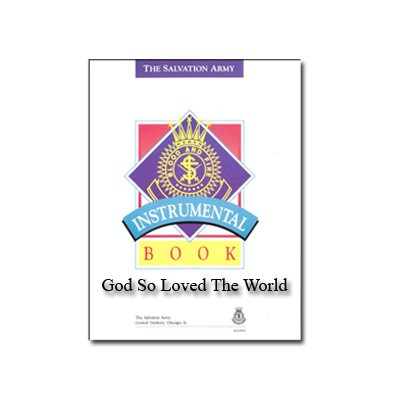God So Loved The World - Digital Score