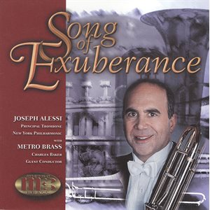 SONG OF EXUBERANCE CD