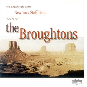 MUSIC OF THE BROUGHTONS CD BY NYSB