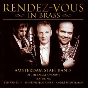 CD RENDEZ-VOUS IN BRASS BY AMERSTDAM STAFF BAND