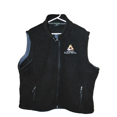 WM Black Vest with logo XS