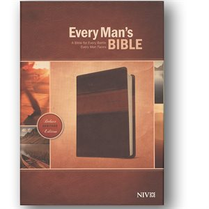 Every Man's Bible NIV Deluxe Heritage Edition