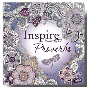 NLT Inspire Bible: Proverbs; for Creative Journaling