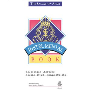 Hallelujah Choruses Instrumental Collection 201-250 (Vol. 19-23)
