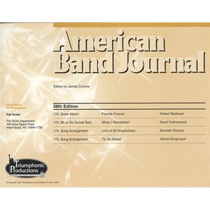 American Band Journal 38 (172-175)