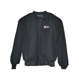 Ladies Black Bomber Jacket w / DTMG