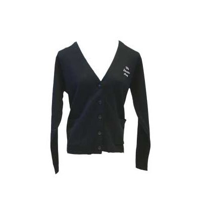 Unisex Navy Cardigan with The Salvation Army Embroidery